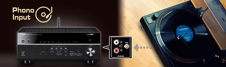 Amplituner MusicCast RX-V681 wejście Phono