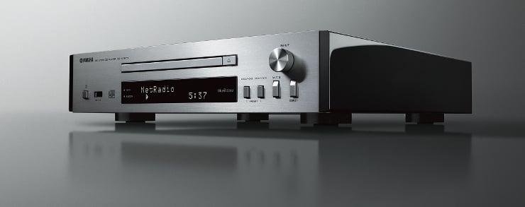 Odtwarzacz CD z funkcjami sieciowymi i systemem MusicCast Yamaha CD-NT670D