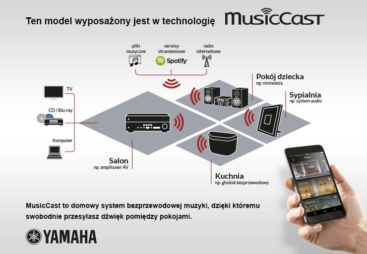 Schemat MusicCast
