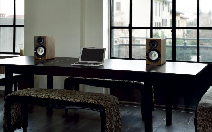 Kolumny głośnikie Yamaha NX-N500 z wbudowanym wzmacniaczem, Wi-Fi i Bluetooth