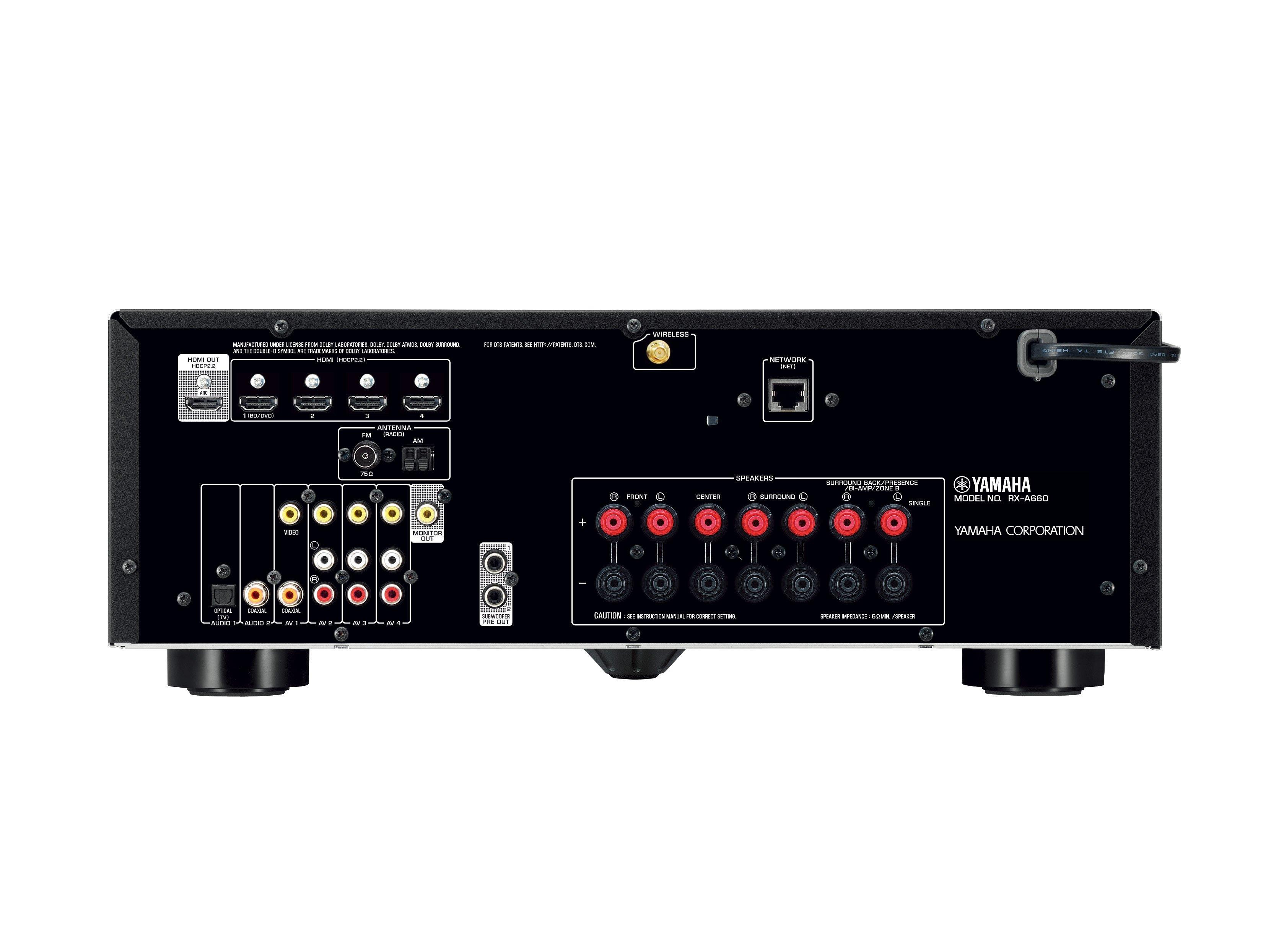 Yamaha MusicCast RX-A660