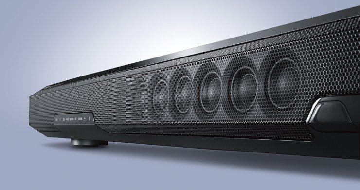 Soundbar Yamaha SRT-1500 z systemem Musiccast