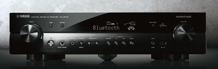 Sieciowy Amplituner AV Yamaha RX-AS710D z systemem MusicCast, tunerm DAB/DAB+ i Bluetooth