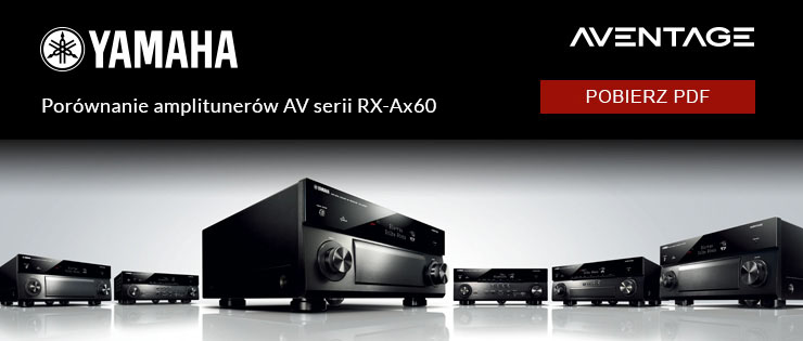 Yamaha Musiccast - porównaj serię Aventage