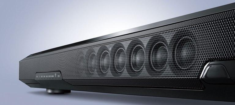 Soundbar Yamaha SRT-1000 - przód