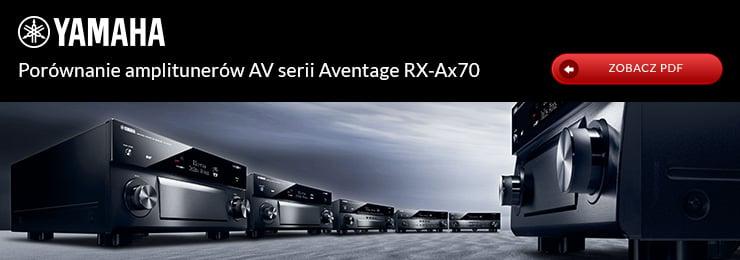 Porównanie produktów Yamaha Aventage RX-Ax70