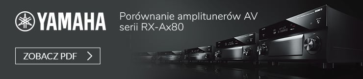 Porównanie amplitunerów AV serii RX-Ax80