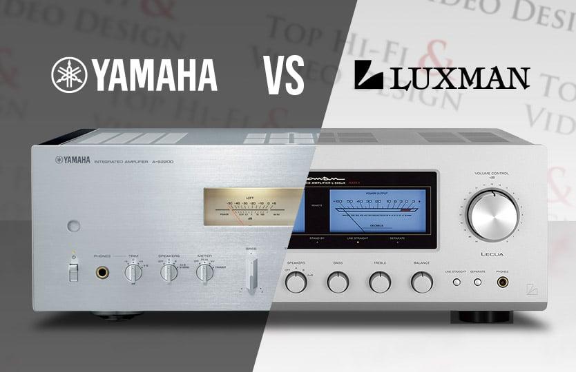 Wzmacniacze Yamaha Luxman