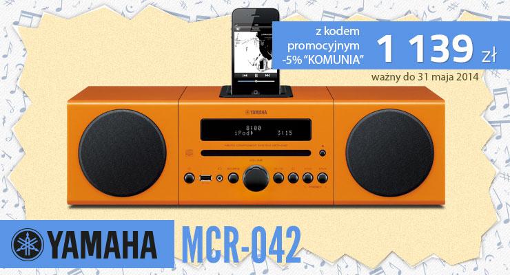 yamaha mcr-042 komunia prezent 2014