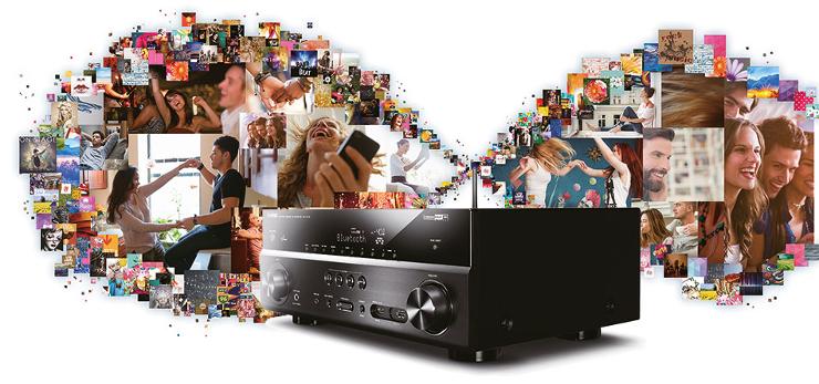 Nowy sieciowy Amplituner AV Yamaha RX-V479