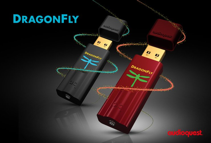 AudioQuest DragonFly Red i DragonFly Black
