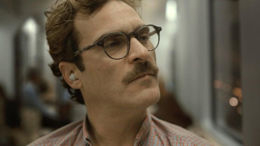 """fot. Joaquin Phoenix, kadr z filmu """"Ona"""""""