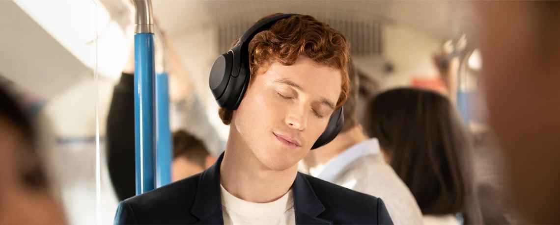 Słuchawki bezprzewodowe nauszne z ANC Sony WH-1000XM4