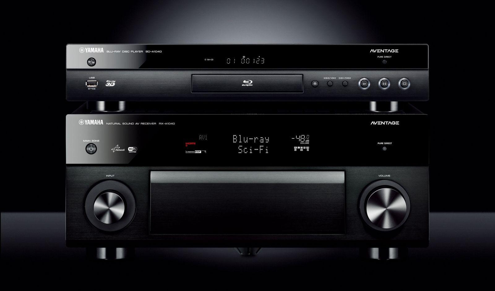 Odtwarzacz BD/DVD Yamaha BD-A1040