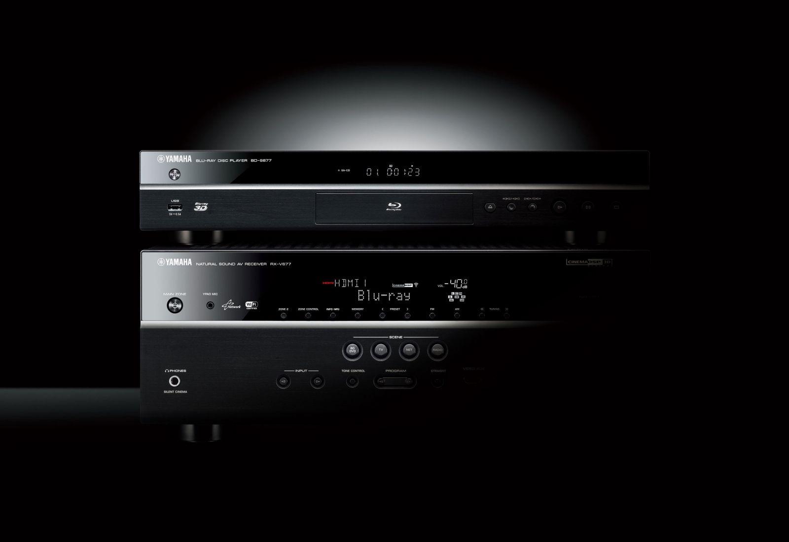Odtwarzacz Blu-ray 3D BD-S677