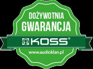Dożywotnia gwarancja KOSS