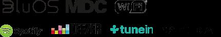 BluOS MDC WiFi Spotify Deezer tunein Tidal