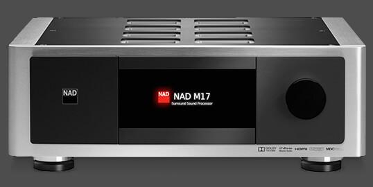 M17.2 Przedwzmacniacz / Procesor AV
