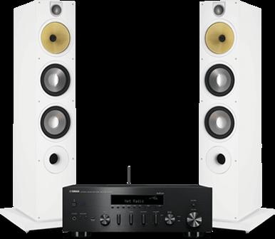 Zestaw stereo Bowers & Wilkins Yamaha