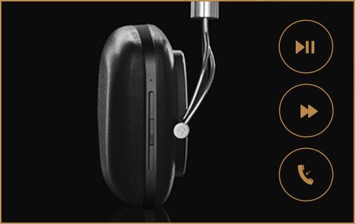 Sterowanie odtwarzaniem muzyki w słuchawkach Bowers & Wilkins