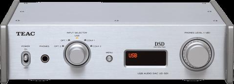 Przetwornik cyfrowo-analogowy TEAC UD-501